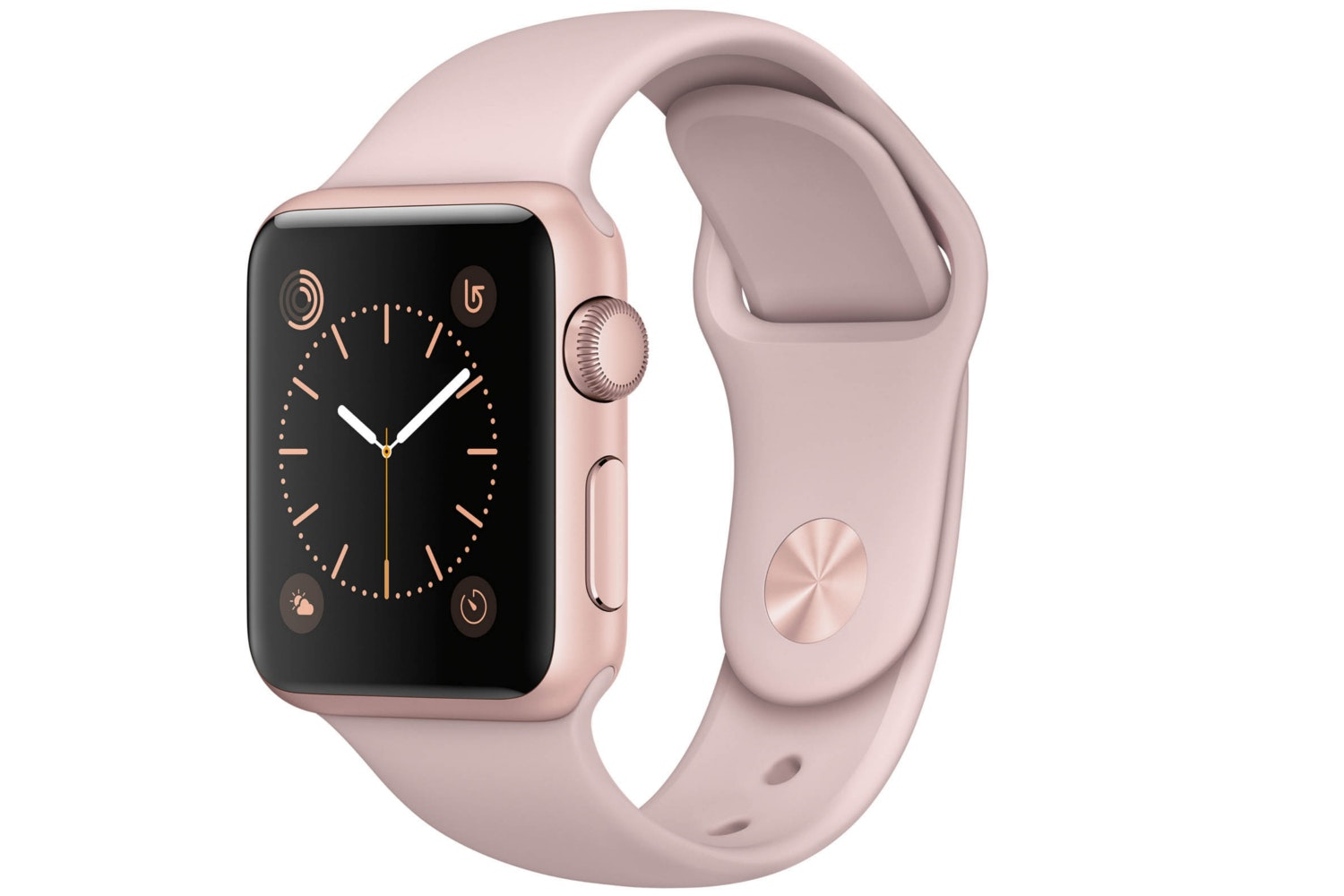 Apple Watch Series 1 | 38mm Rose Gold Aluminium Case with Pink Sport Band