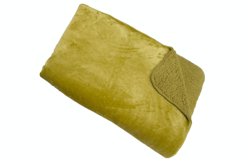 Fleece Cosy Throw | Green