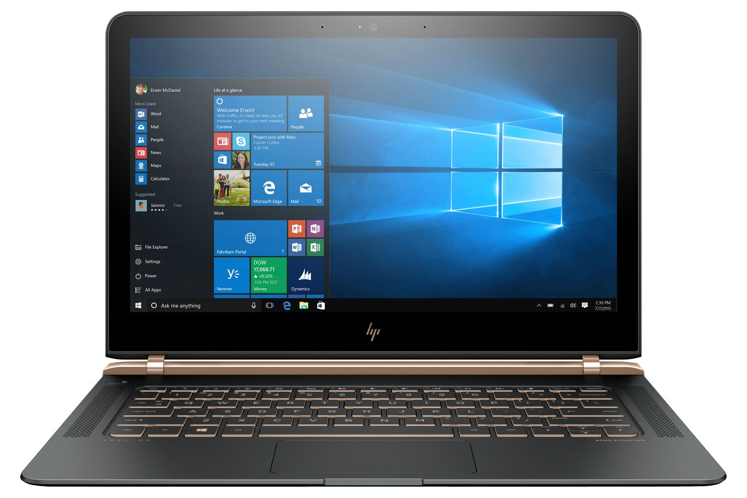 "HP Spectre 13.3"" Core i5 