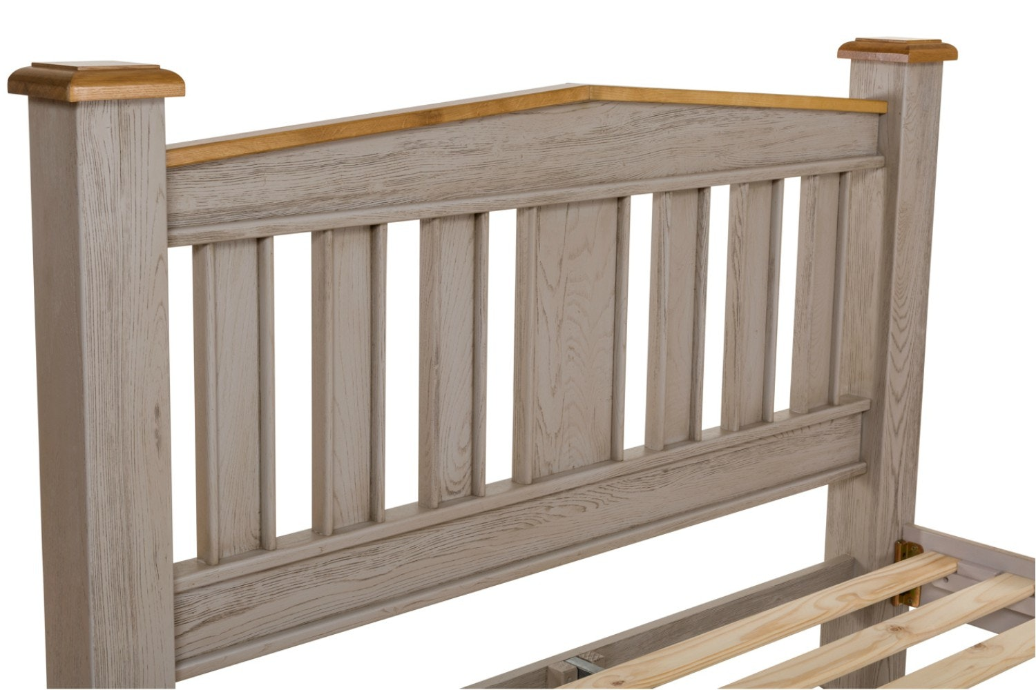 Lancaster Aged Grey Bed Frame | 5ft