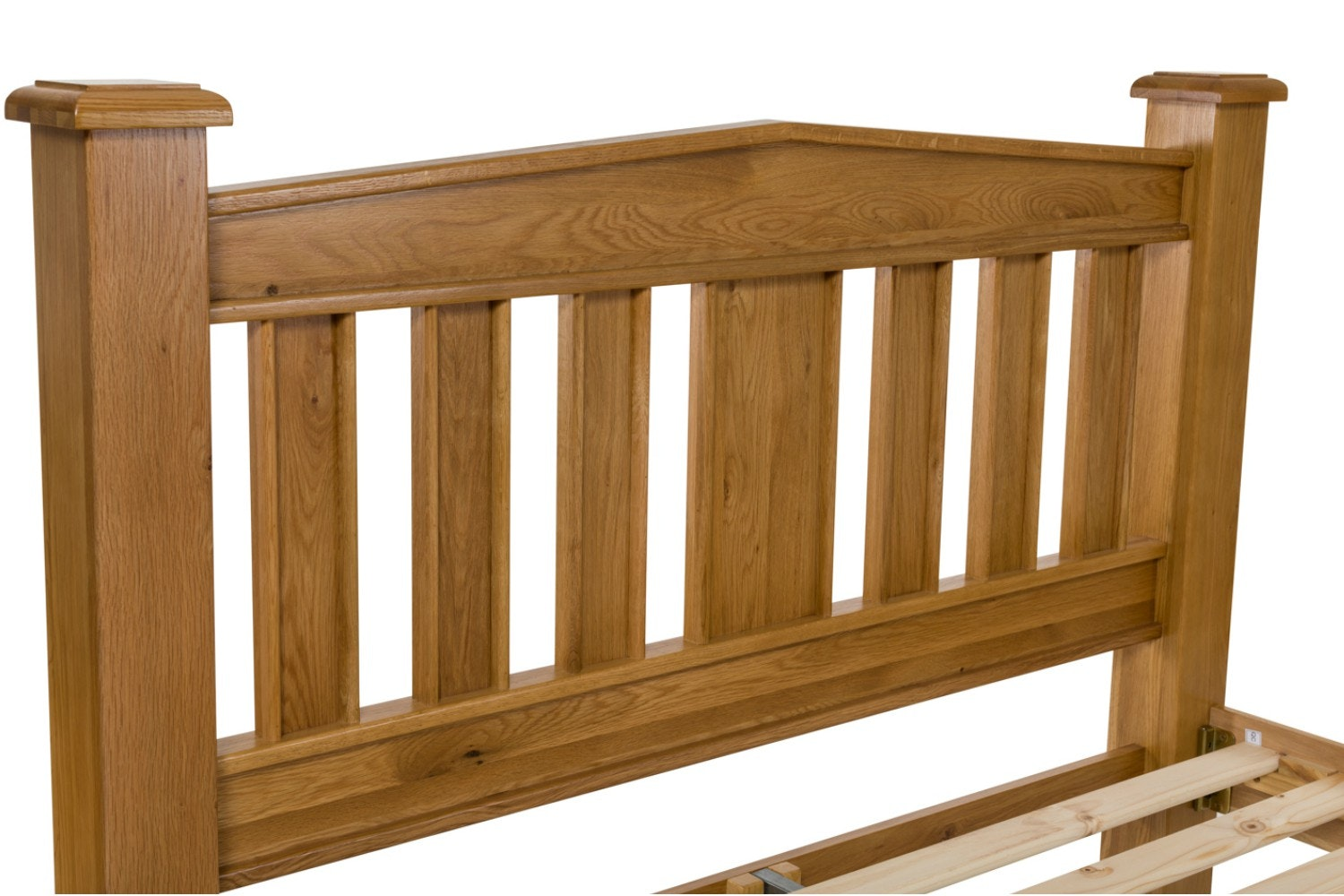 Lancaster Natural Oak Bed Frame | 5ft