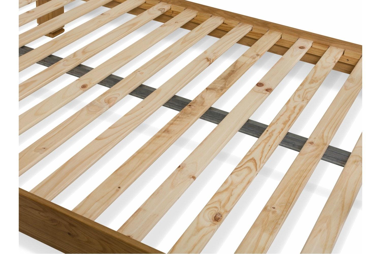 Lancaster Natural Oak Bed Frame   5ft