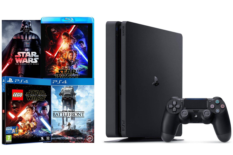 PS4 1TB Slim   Star Wars Bundle