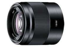 Sony 50mm f1.8 E-Mount Portrait Lens