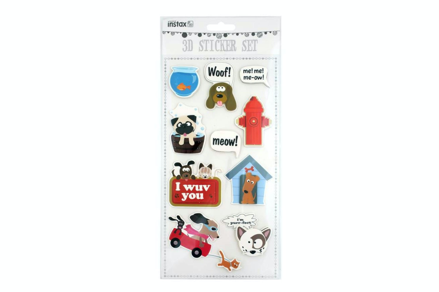 3D Sticker Set | Pets