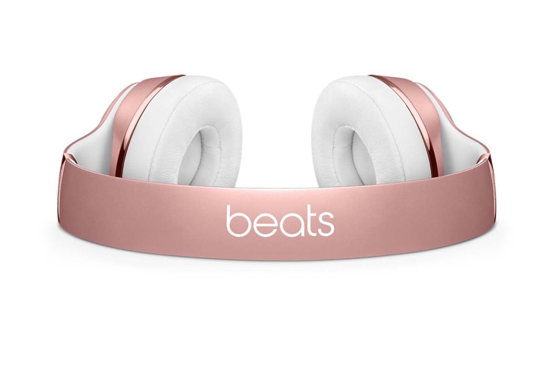 Beats Solo3 Wireless On-Ear Headphones | Rose Gold