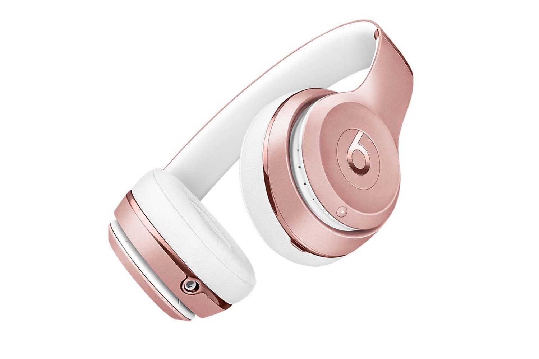 Beats Solo3 Wireless On Ear Headphones | Rose Gold