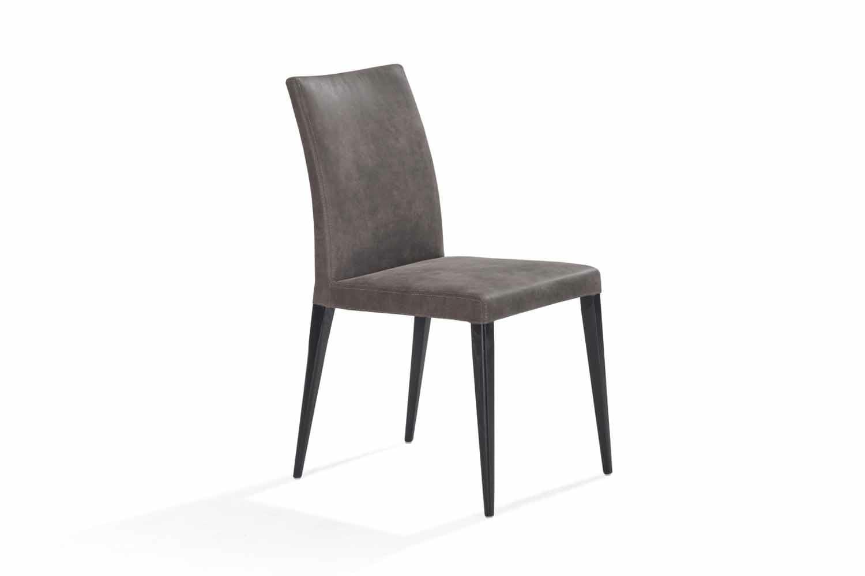 Calvino Low Back Dining Chair Dark Ireland