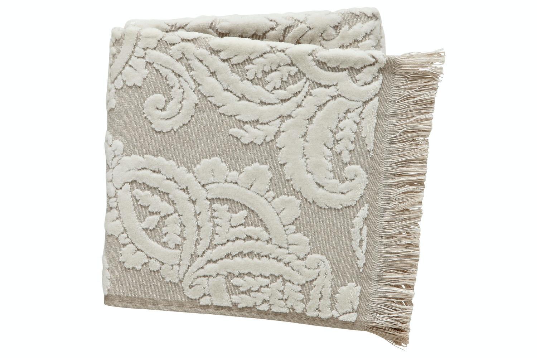 Montfort Bath Towel | Linen/Pearl