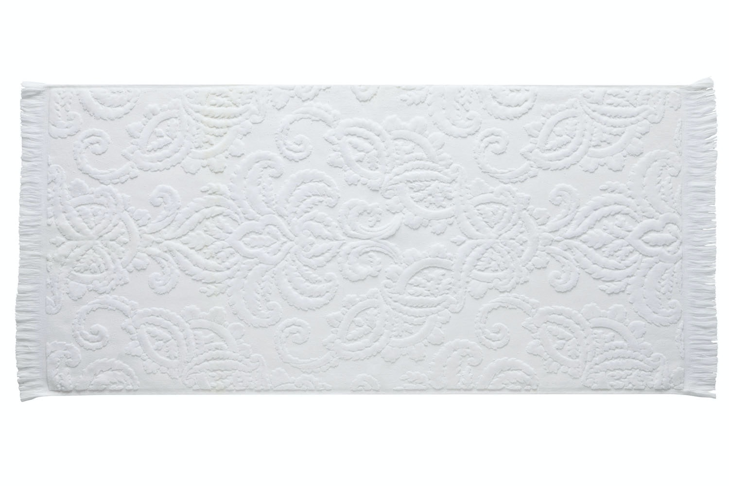 Montfort Bath Towel | White