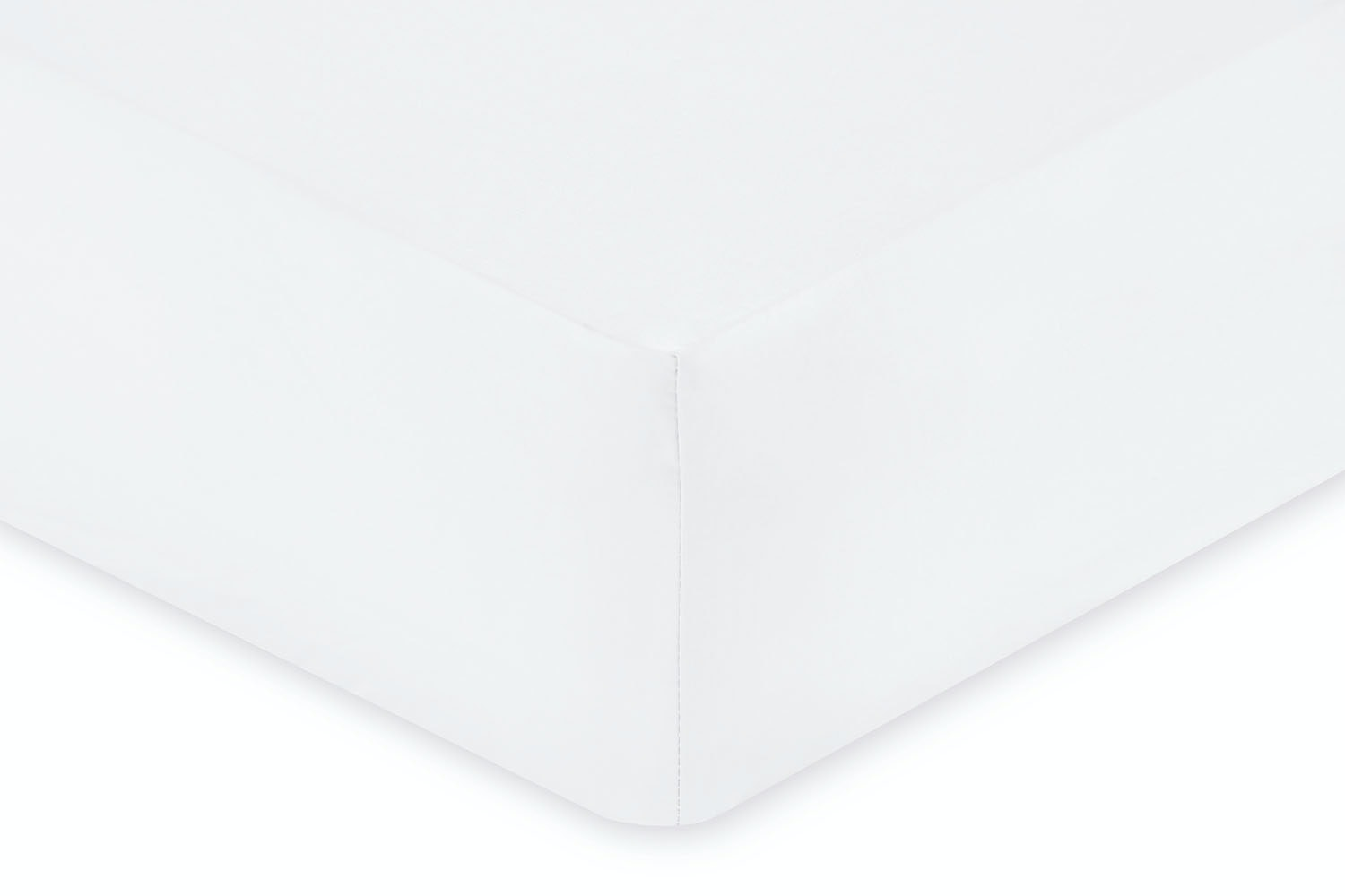 Fitted Sheet | King | White