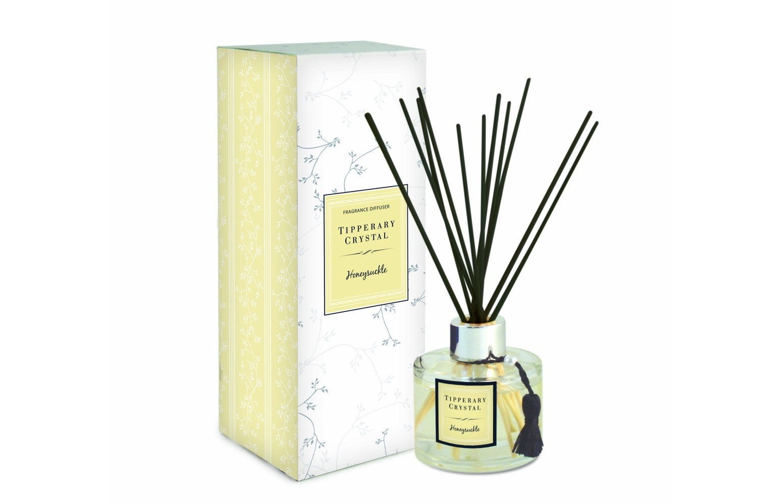 Tipperary Crystal Honeysuckle Fragranced Diffuser