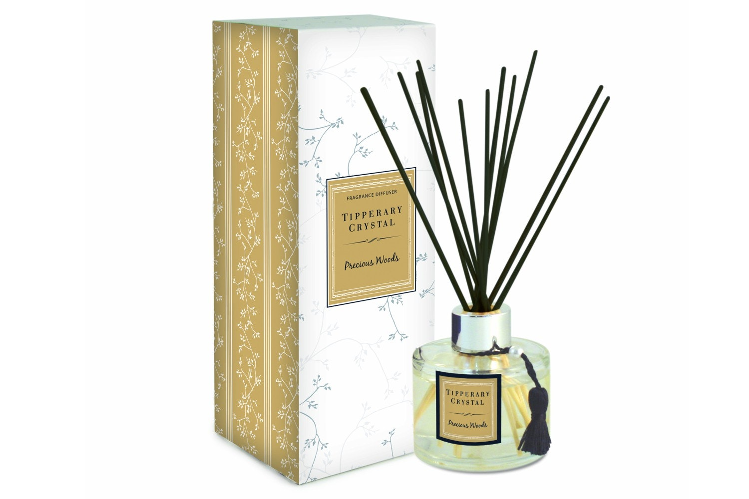 Tipperary Crystal Precious Woods Fragranced Diffuser