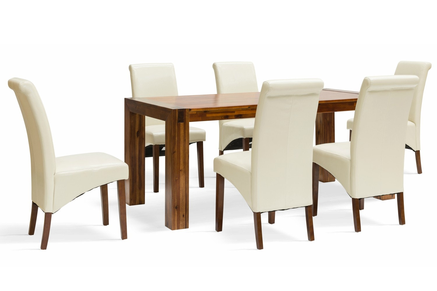 Orient 7-Piece Dining Set | Wilton Chairs
