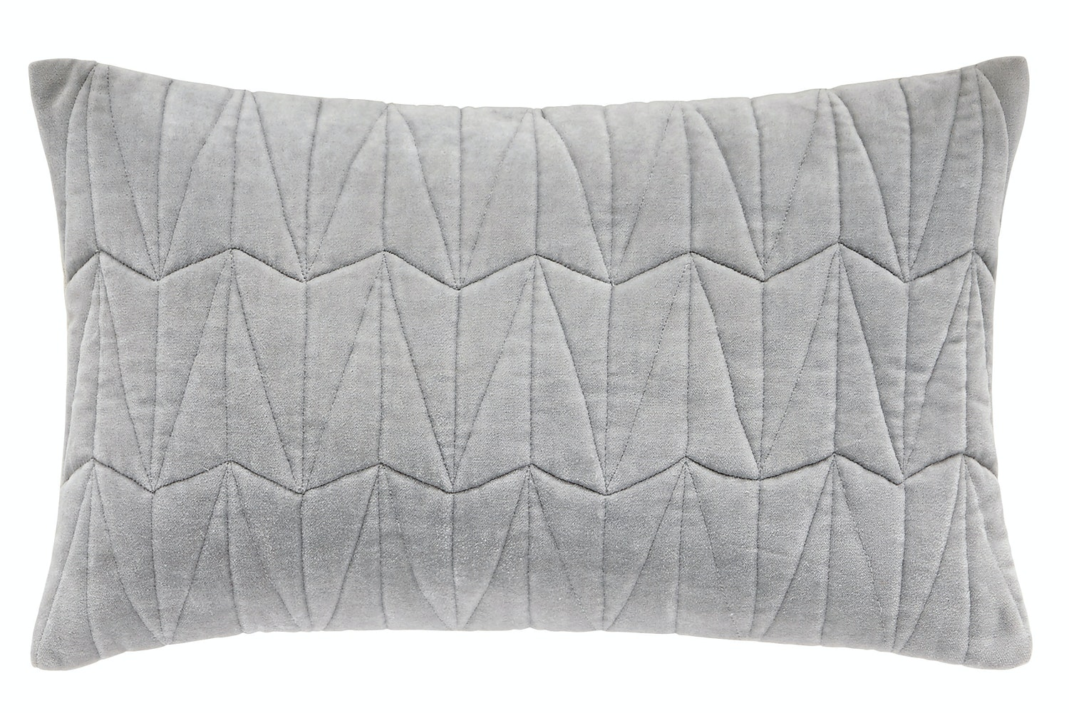 Clarendon Cushion Platinum | 30x50cm