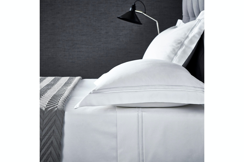 Linley Flat Sheet Double   White