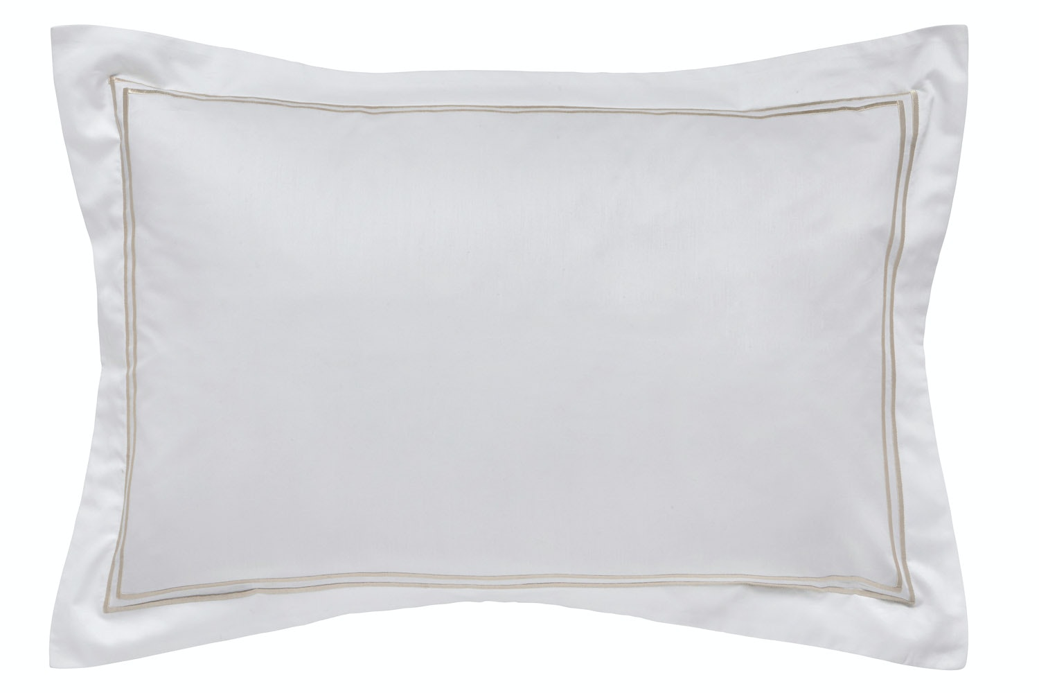 Linley Oxford Pillowcase | stone