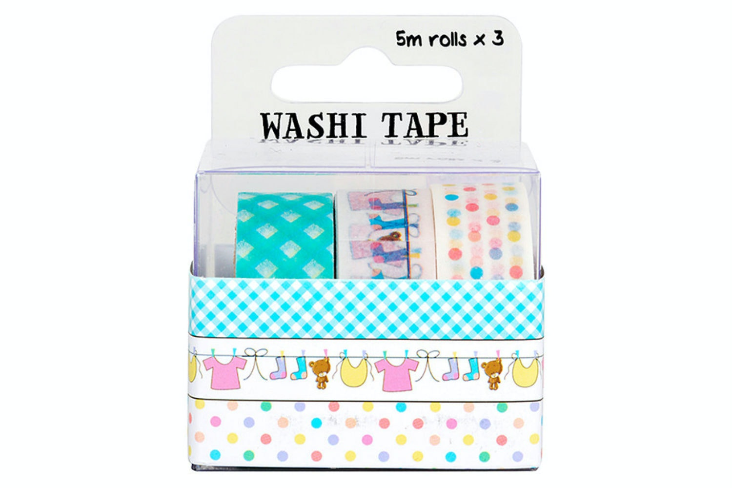 Washi Tape 3 Roll Pack | Baby