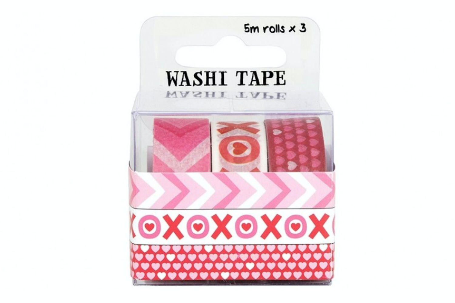 Washi Tape 3 Roll Pack | Hearts