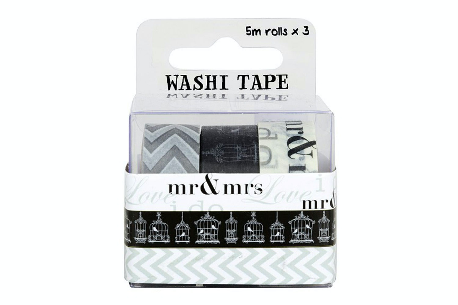 Washi Tape 3 Roll Pack | Wedding