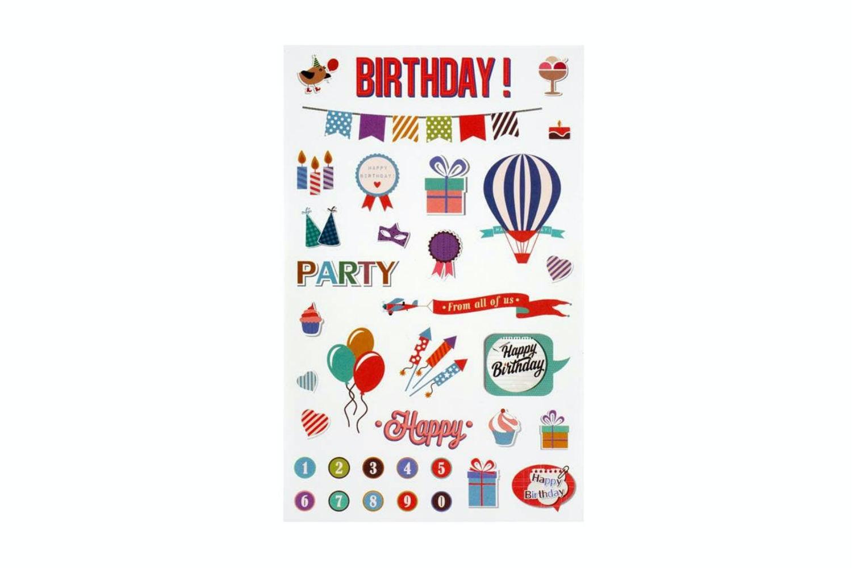 Sticker Sheet | Birthday
