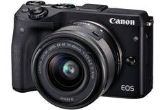 Canon EOS M3 & EF-M 15-45mm IS STM Lens