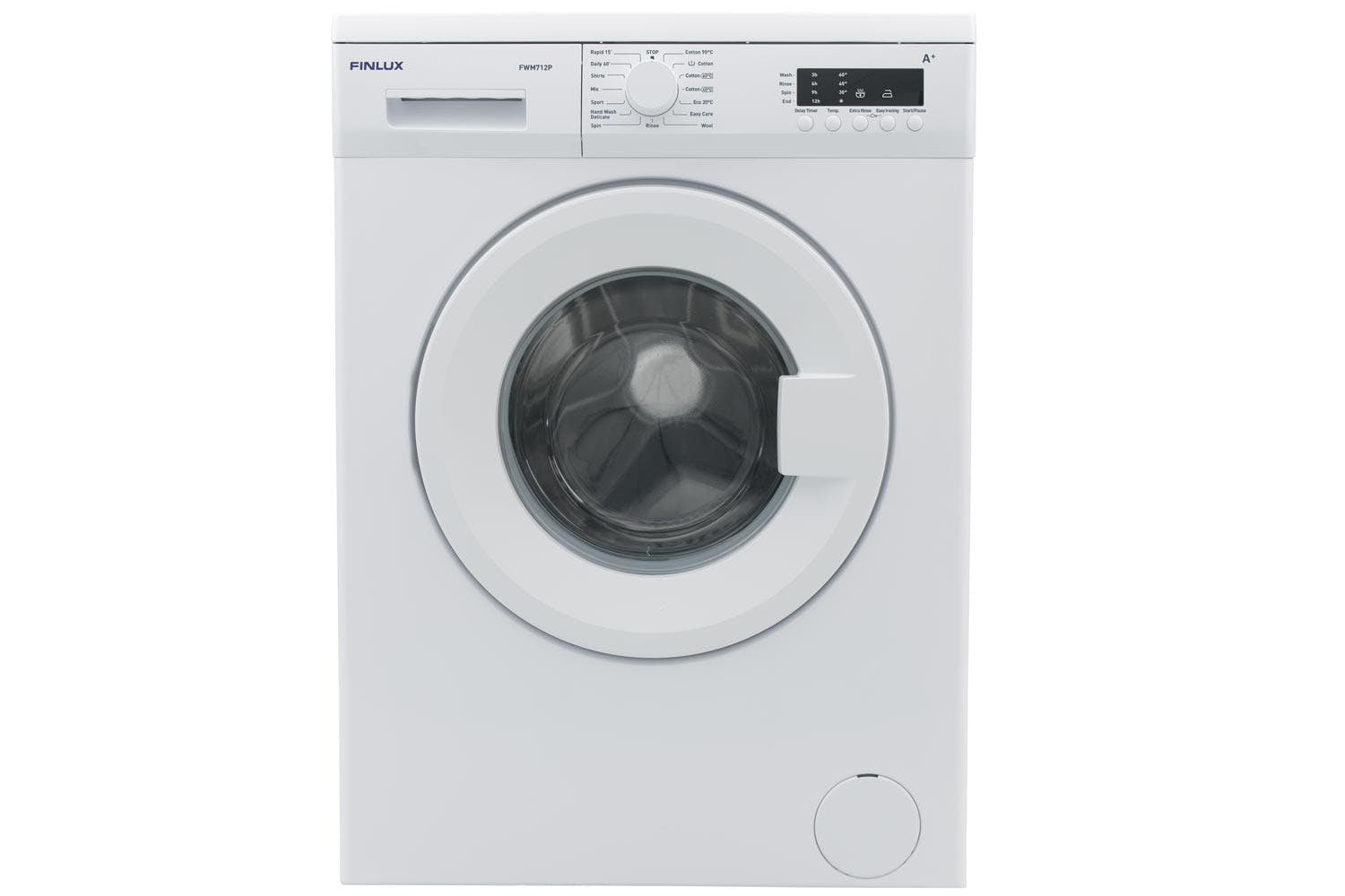 Washing Machines Your Machine Superstore Ireland Twin Tub Wiring Diagram Finlux 7kg Fwm712p