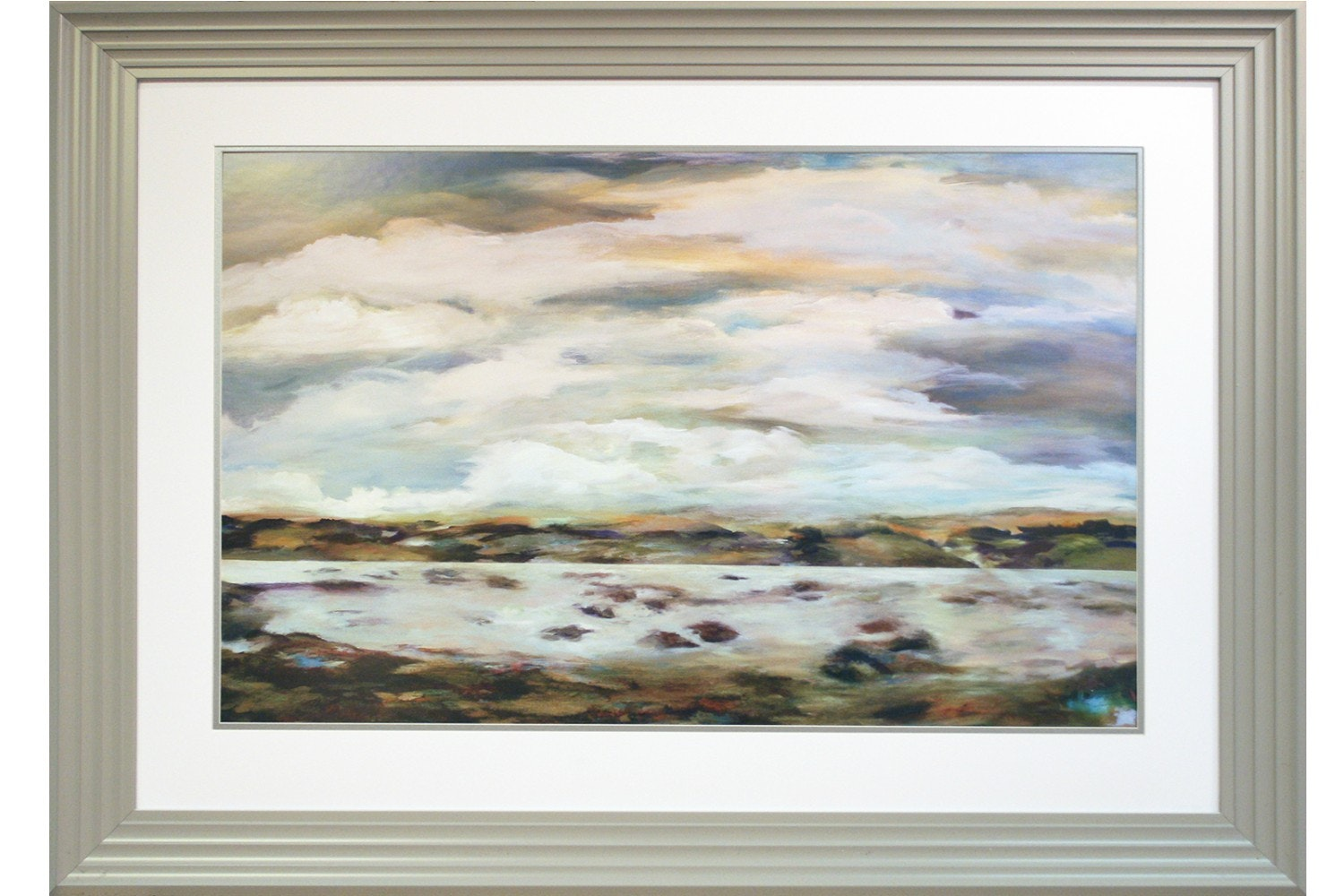 Light Touch Framed Painting