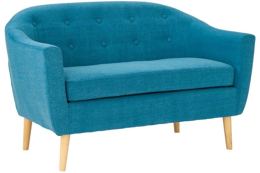 Harrison 2 Seater Sofa Teal Ireland