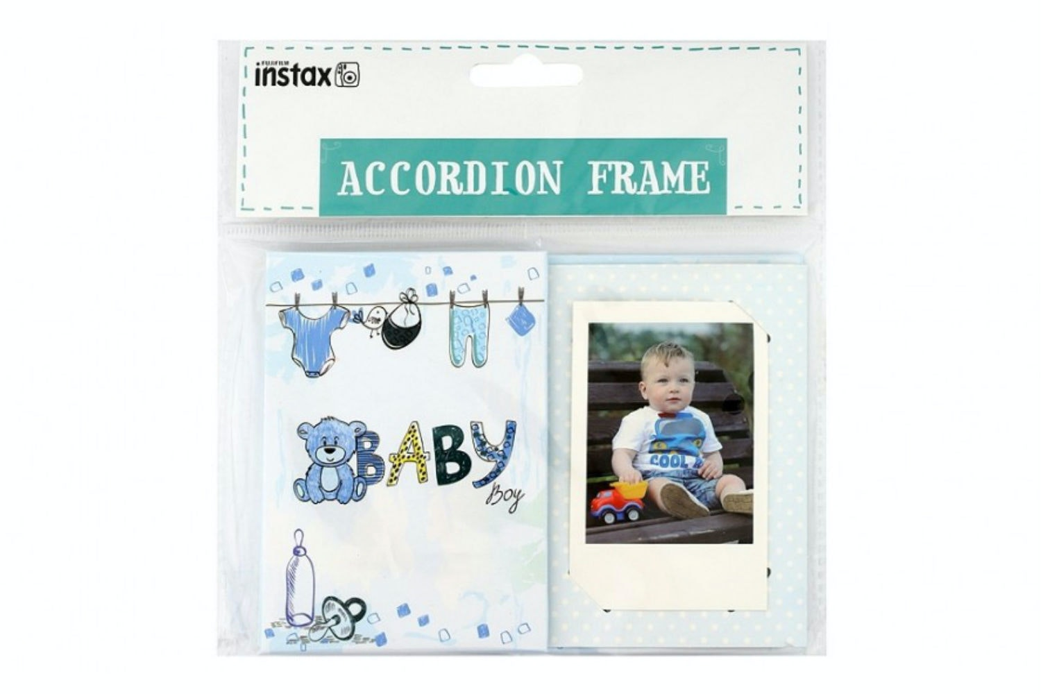 Instax Accordion Frame | Baby Boy