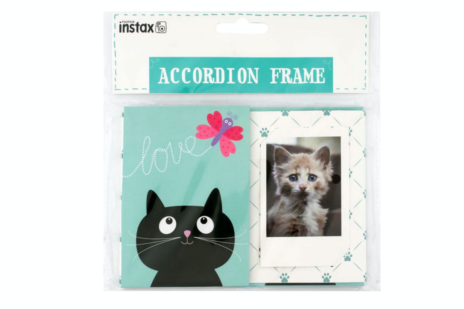 Instax Accordion Frame | Cat