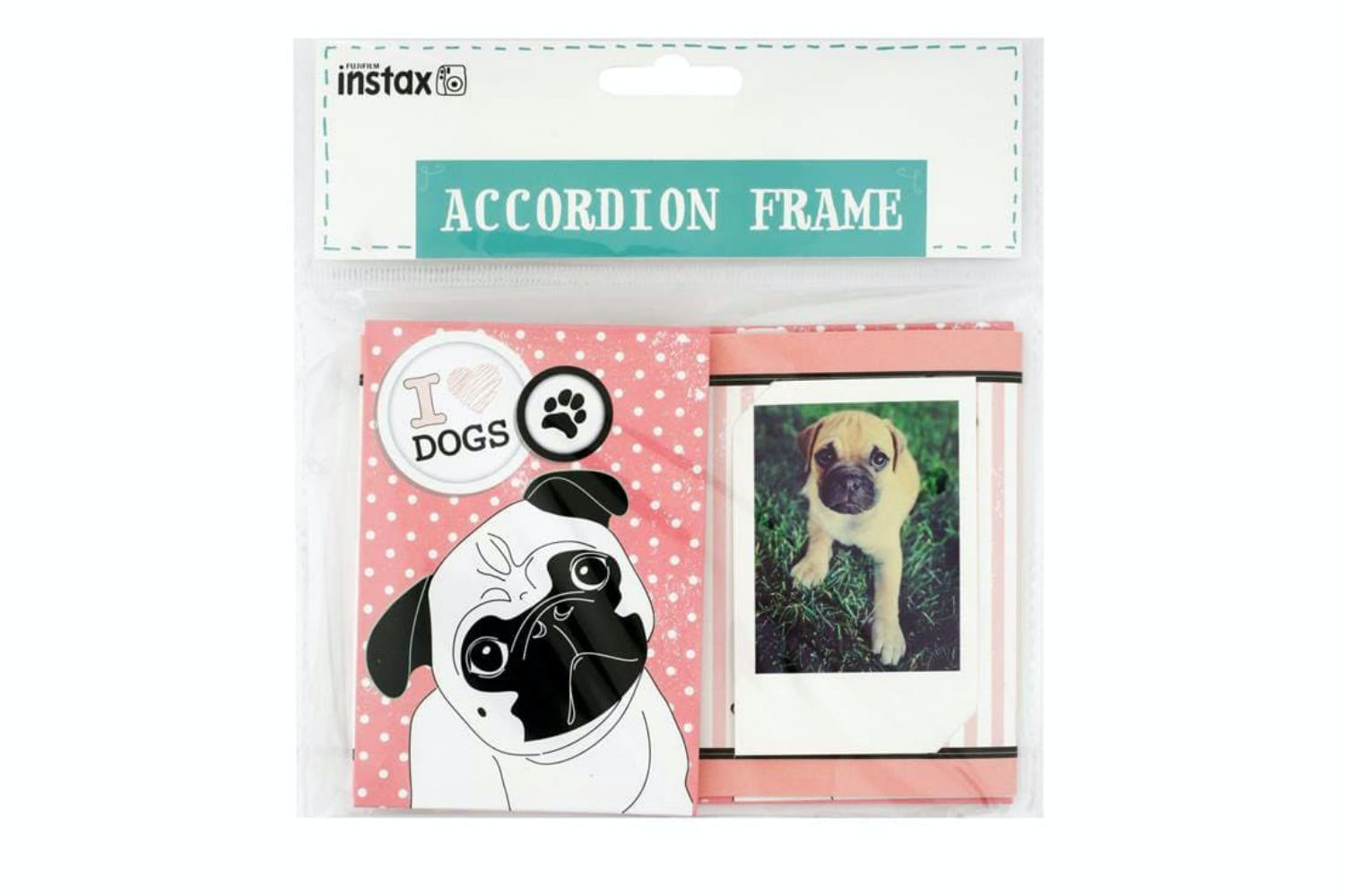 Instax Accordion Frame | Dog