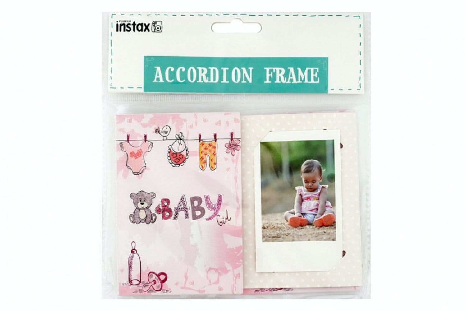 Instax Accordion Frame | Baby Girl