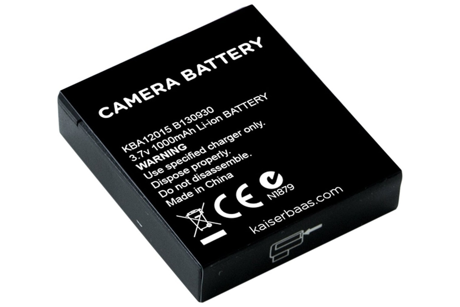 Kaiser Baas X90 Action camera Spare battery