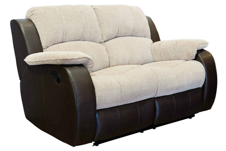 Kayde 2 Seater Recliner Sofa Ireland ~ Two Cushion Reclining Sofa