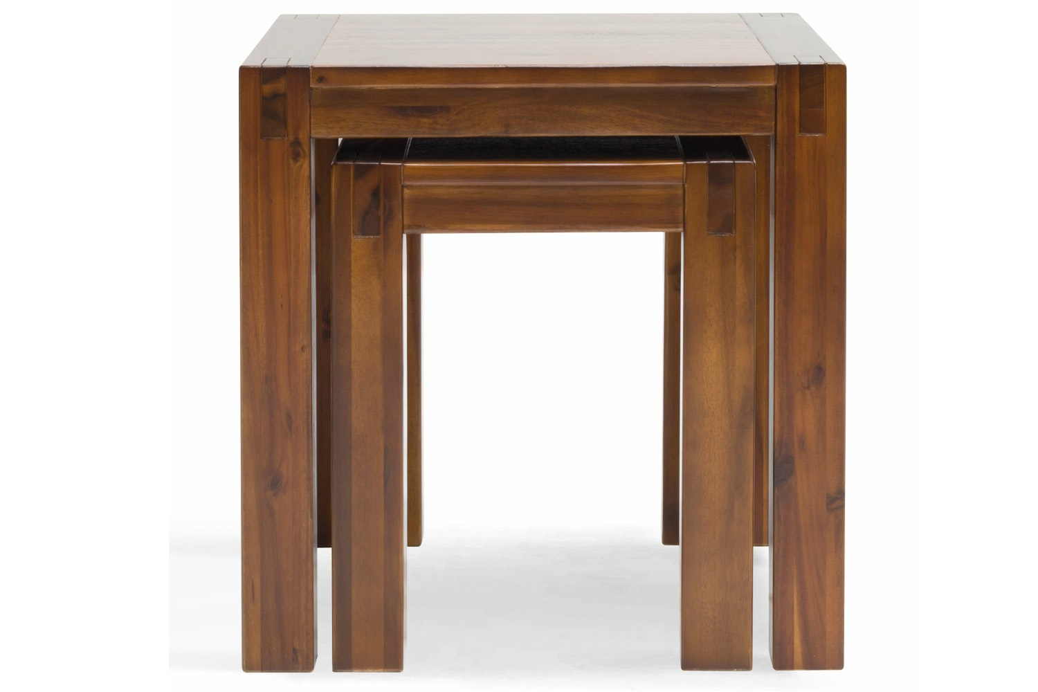 Nest Tables Wood Gallery Bar Height Dining Table Set