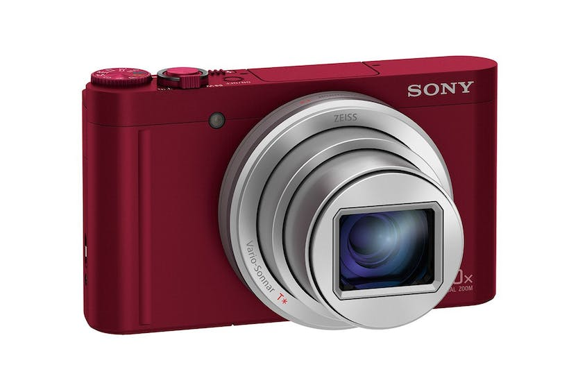 Sony WX500 Digital Camera | Red