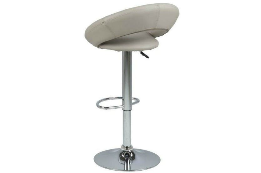 Plump Bar Stool | Taupe