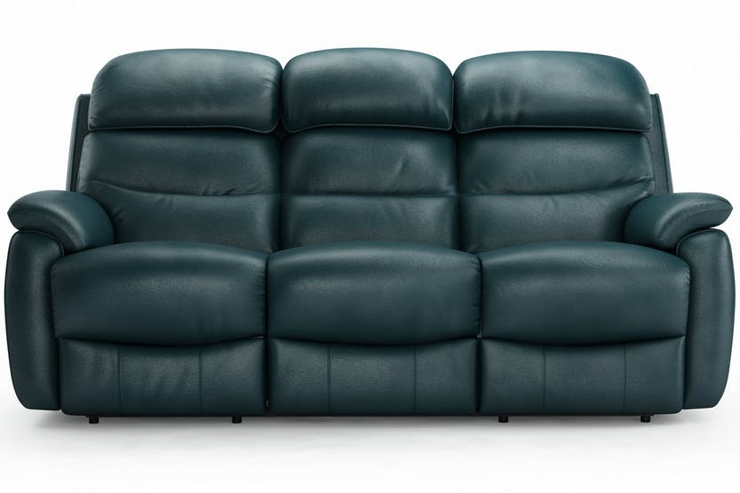 Recliner Leather Sofa Set Loveseat Couch 3+2+1 Seater Living Room ...