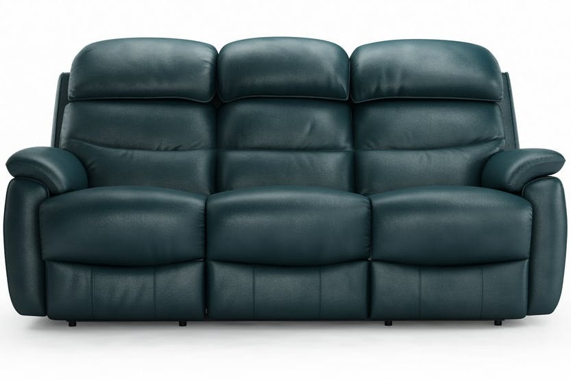 Charmant Tyler 3 Seater Leather Recliner Sofa