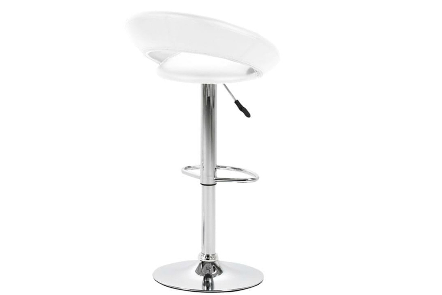 Plump Bar Stool | White