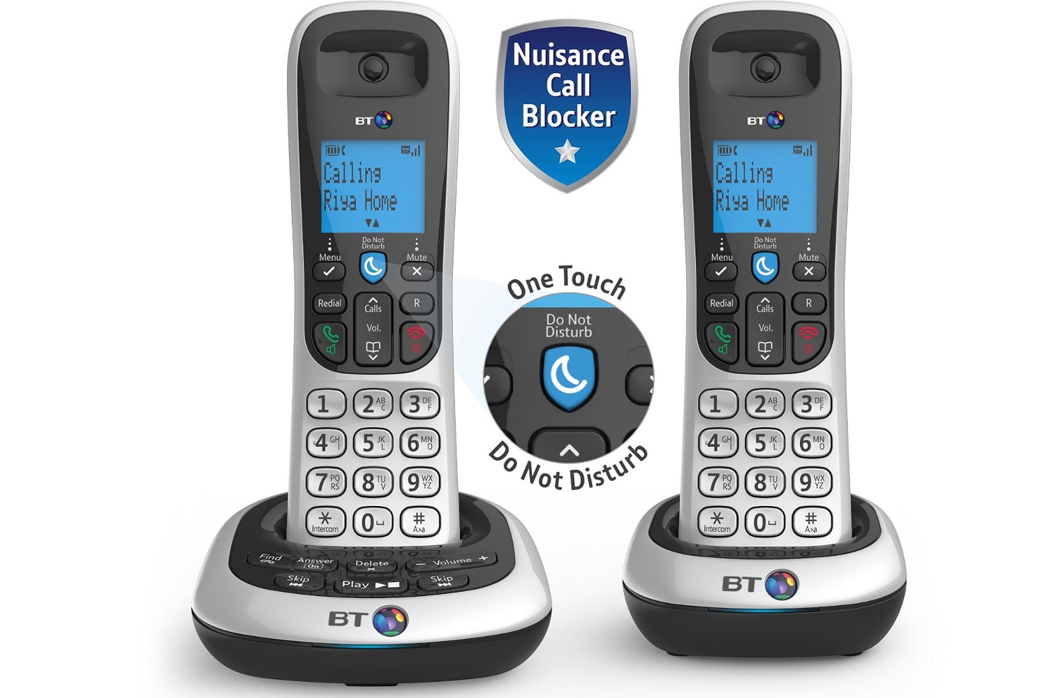 BT 2700 Cordless Home Phone | Twin