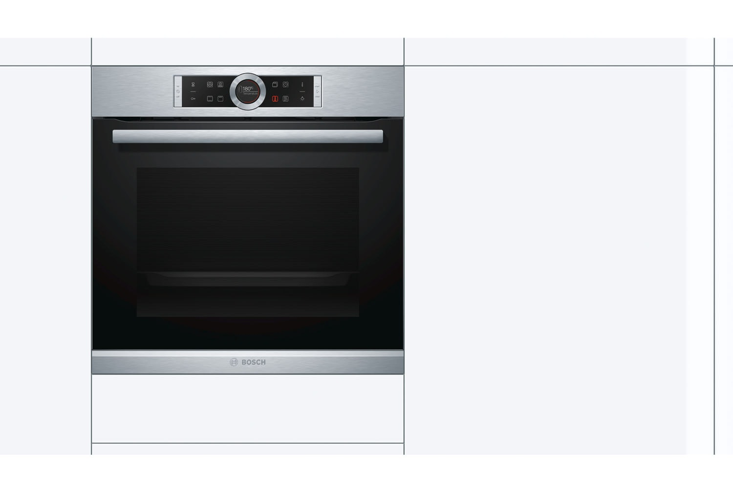 Bosch Built-in Electric Single Oven | HBG634BS1B