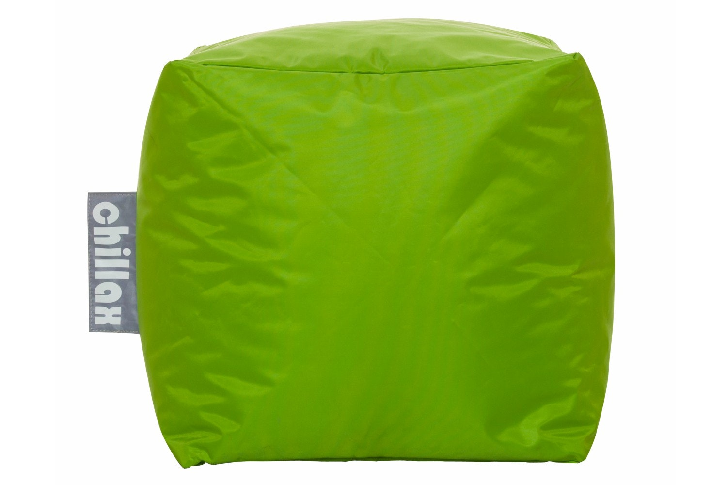 CHILLAX B/BAG CUBE STOOL LIME