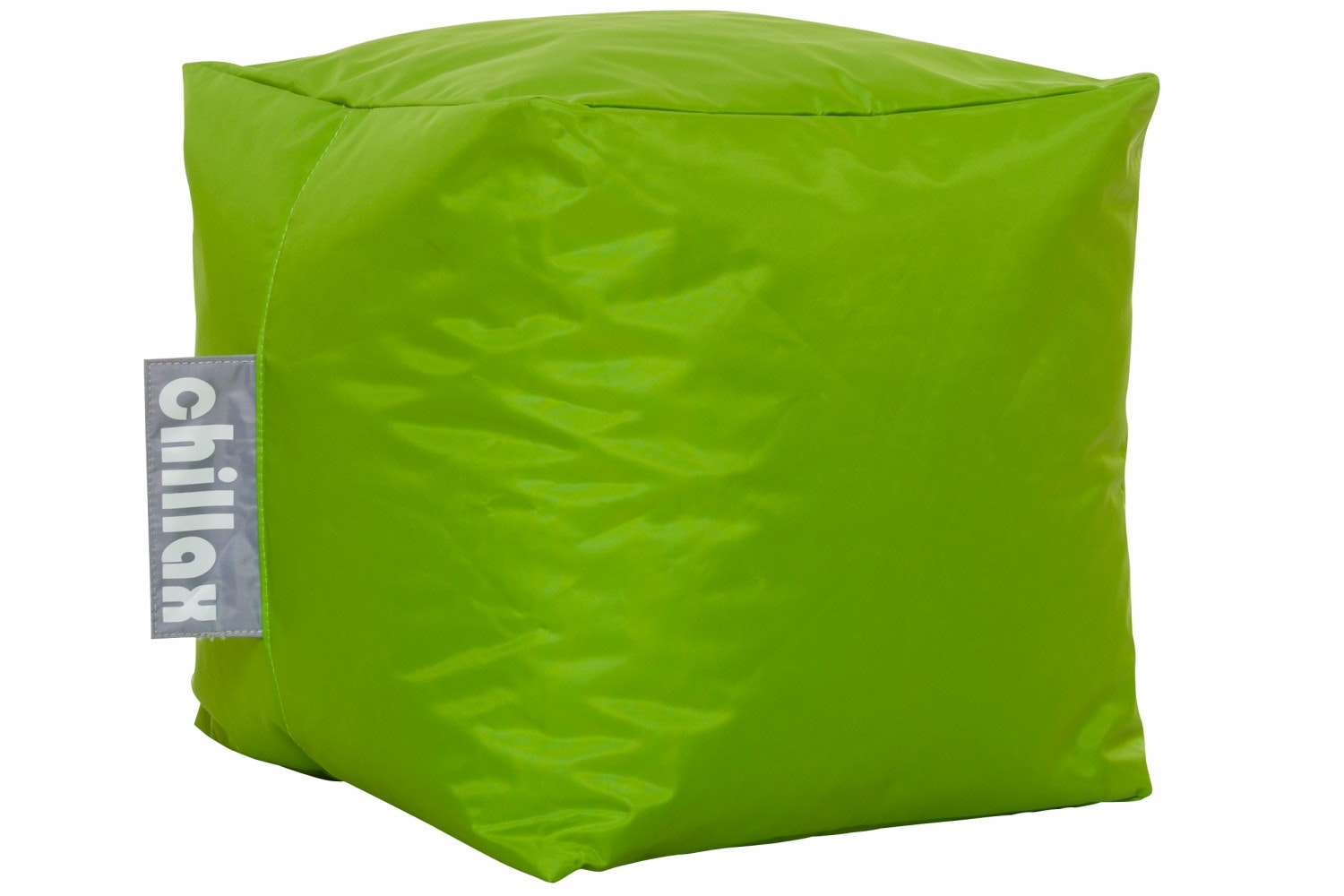 Chillax Cube Stool Bean Bag | Lime