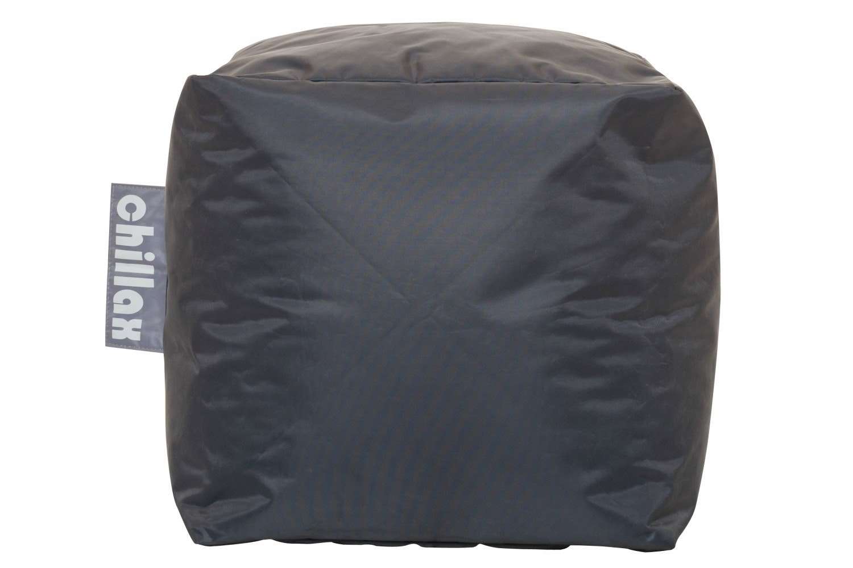 Chillax Cube Stool Bean Bag | Grey