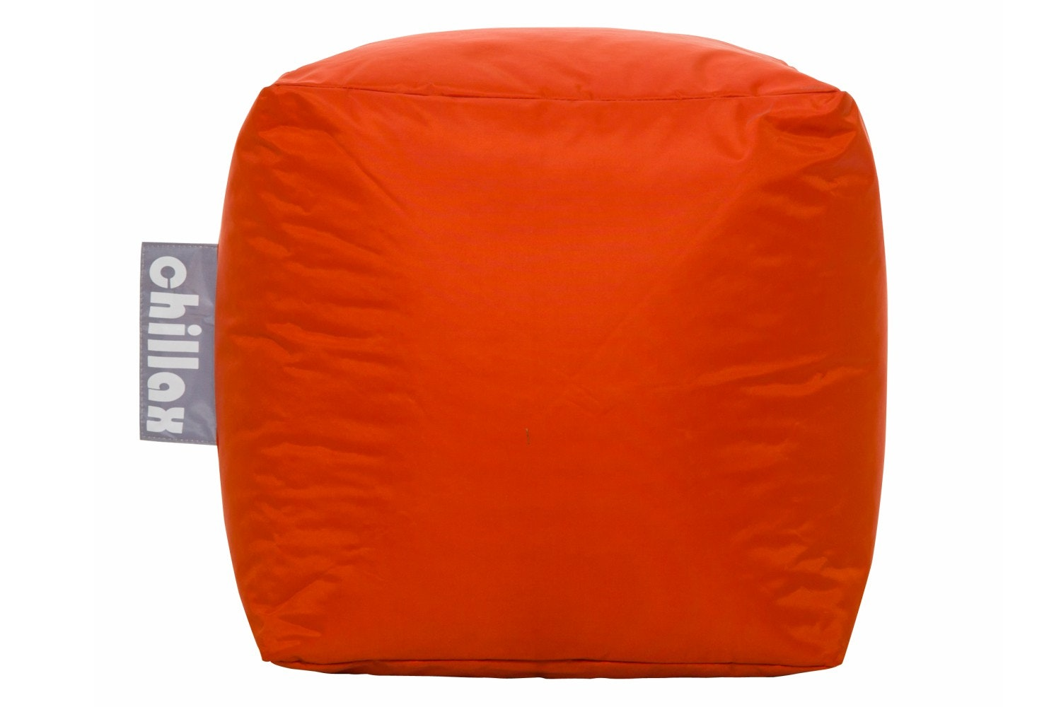 Chillax Cube Stool Bean Bag | Orange