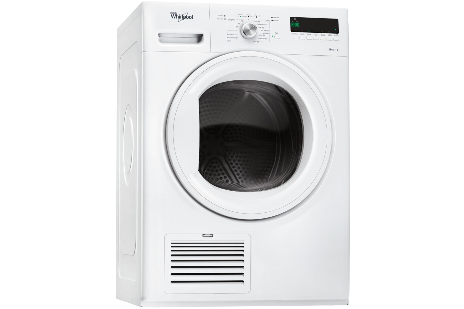 Whirlpool 8kg 6th Sense Condensor Dryer | DDLX80114