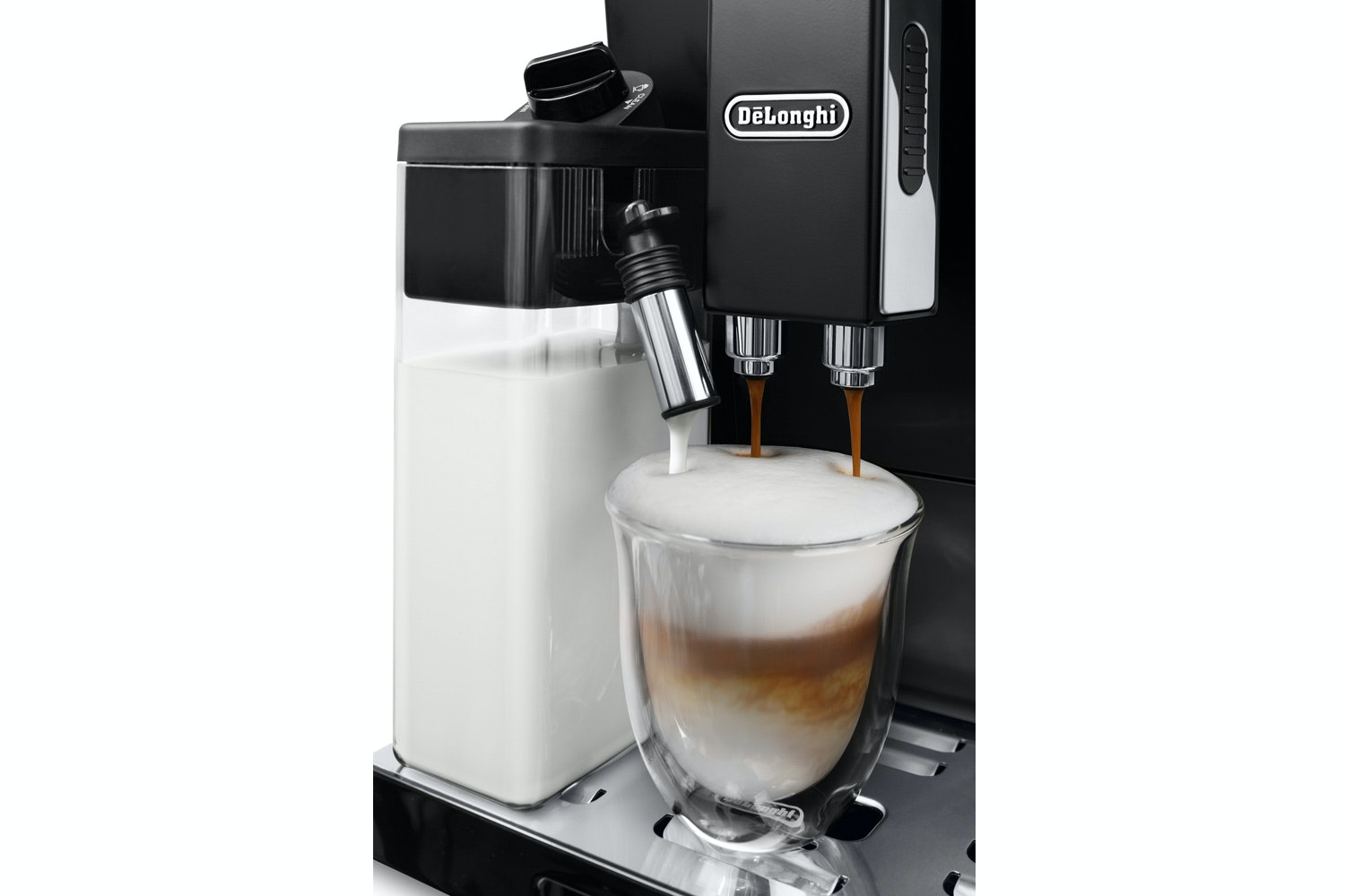 DeLonghi Eletta Bean to Cup Coffee Machine | ECAM44.660.B | Black