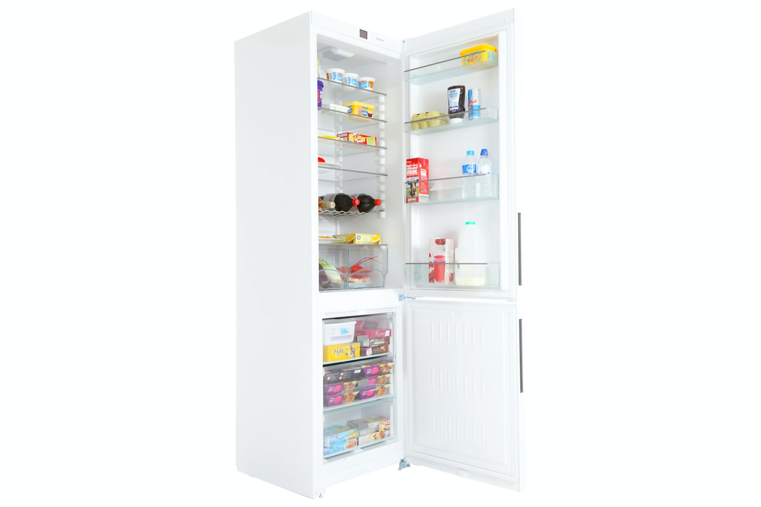 Miele KFN 29032 D  Freestanding fridge-freezer   with Frost free and Dynamic cooling for highest convenience and versatility